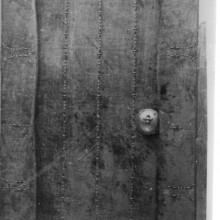 Registre: 1783 (AMSJD). Porta de la capella vista des de la sala. Any: 1928