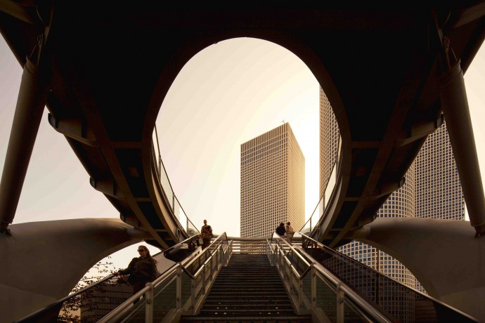 Fernando Guerra for Aircraft Carrier,Azrieli Center, Tel Aviv, 2012