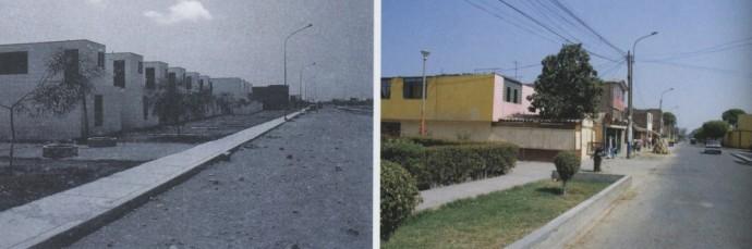 Proyecto de Atelier 5 en 1978 y 2003.