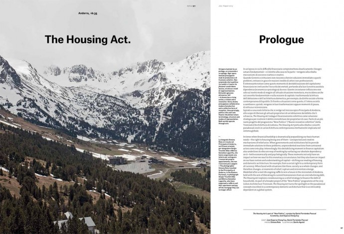 Spread from Domus 971.