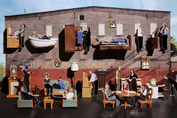 The Brooklyn Group and Its Old Mattress Factory. Photo: Hannah Whitaker