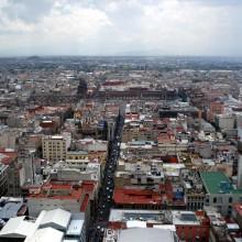 Mexico DF visto desde la Torre Latinoamericana.