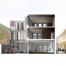 Una nova casa pati per a un emplaçament buit a Suriçi [projecte de Gabriel Cuéllar].