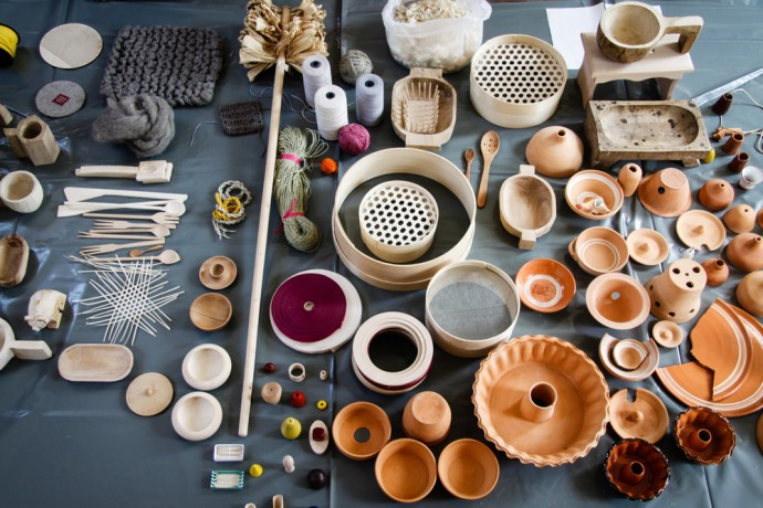 Raw material. Oloop, Hidden Crafts. Photo: Designer archive.