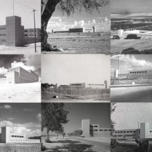 Various Tegart Forts in their original state: 1940's