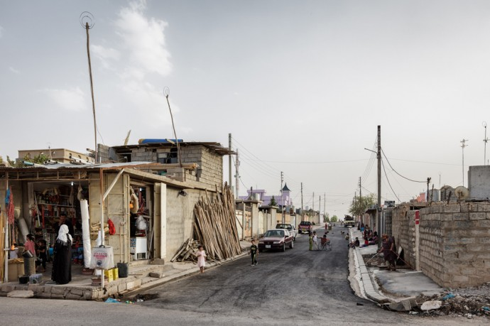 Collective Towns in Iraqi Kurdistan. Photo: Leo Novel