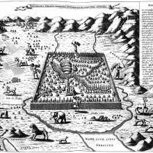 2 - Athanasius Kircher, Topographia Paradisi Terrestris - 1675